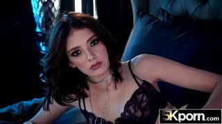 5KPorn – Lena Anderson Filled With Jizz in Stockings