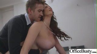 Busty Office Slut Girl In Hardcore Sex