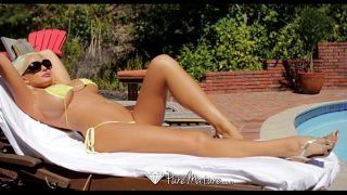 HD – PureMature Busty Summer Brielle blasted by dick by the pool