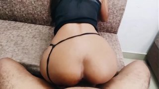 Indian Babe Rides Cock on p.