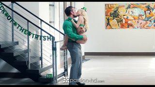 Passion-HD – Petite blonde Piper Perri fucks on St-Patrick's Day