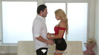 PureMature – Sexy blonde Alix Lynx comes home for a fuck and suck session